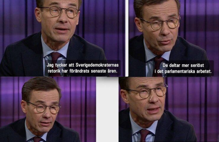 Moderaterna, Sverigedemokraterna,Ulf Kristersson